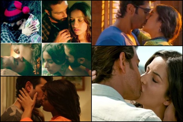 best bollywood lip locks from recent movies filmymantra