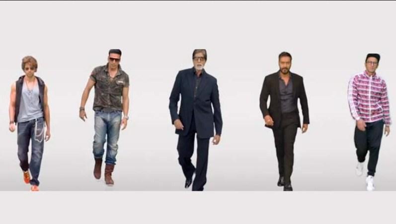 "Watch: Amitabh, Hrithik, Akshay and Ranveer in a Single Video Song ""Birju"""