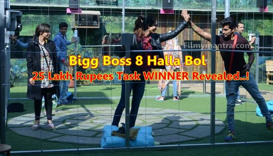 Bigg Boss 8 Halla Bol: Winner of Rs 25 Lakh Task Revealed!