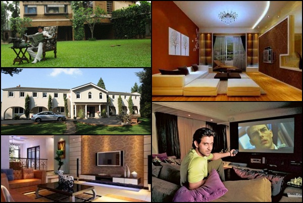 Top 10 amazing homes of bollywood celebrities for Top ten home builders