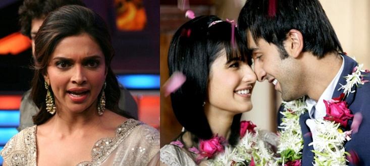 Deepika Padukone Ranbir Kapoor and Katrina Kaif