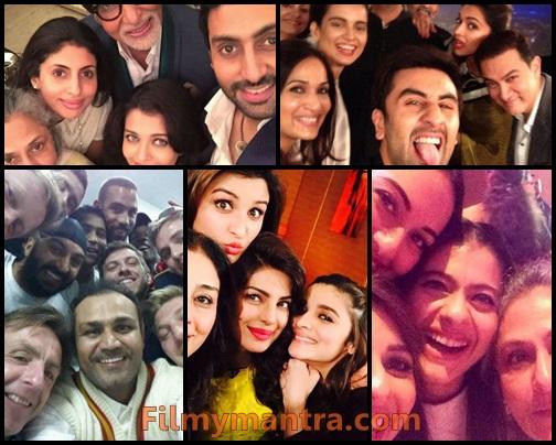 Selfies of Famous Celebrities