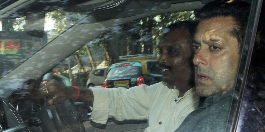 Salman Khan At Court In 2002 Hit And Run Case