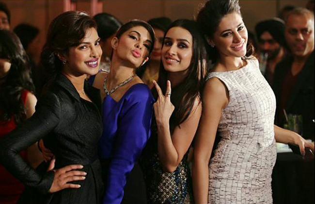 Priyanka-Nargis-Shraddha-Jacqueline-in-One-Frame