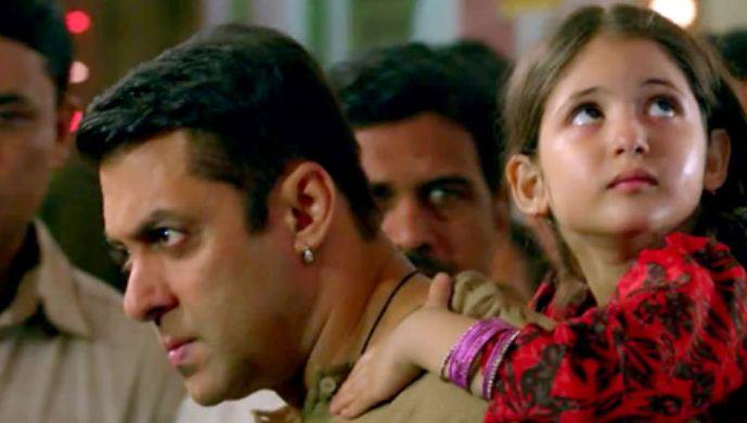 Harshali Malhotra and Salman Khan