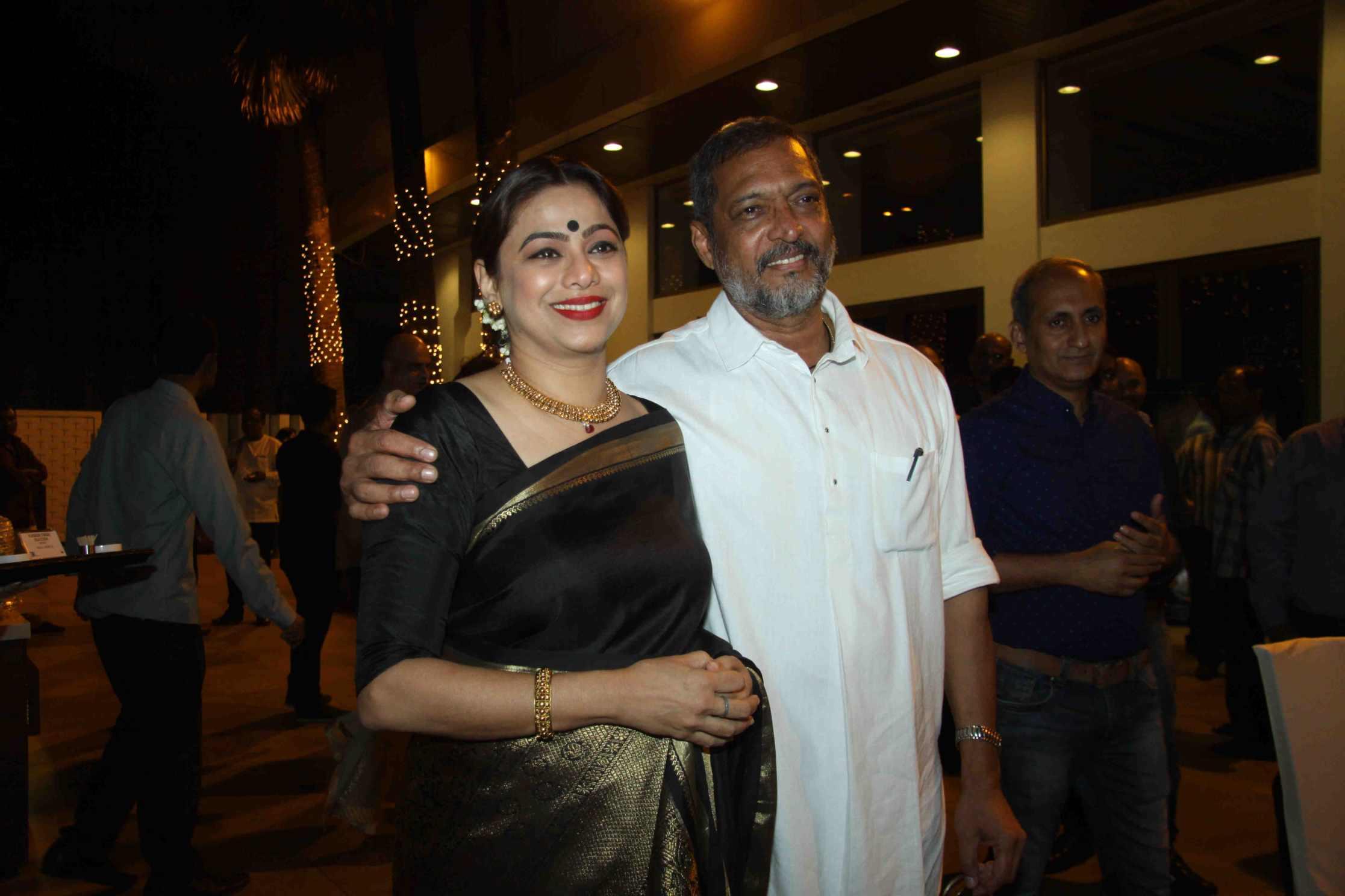 Nana Patekar at Natasamrat film trailer launch event