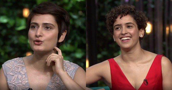 Fatima Sanya Shaikh and Sanya Malhotra