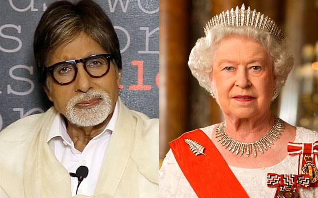 Amitabh Bachchan , Queen Elizabeth