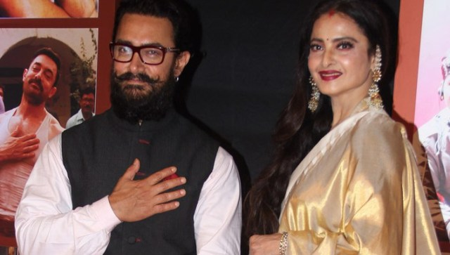 Rekha's letter to Aamir Khan bring tears to his eyes | Filmymantra
