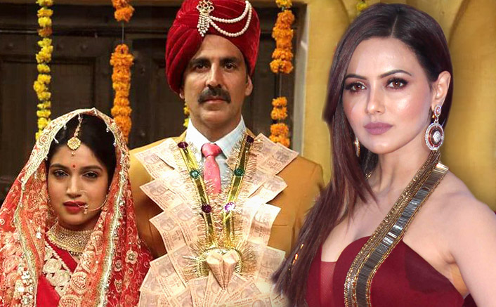 Sana Khan Talks About Her Role Opposite Akshay Kumar