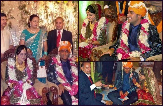 mahendra singh dhoni and sakshi rawat marriage was like a
