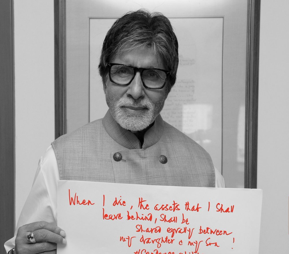 Big B announces his will