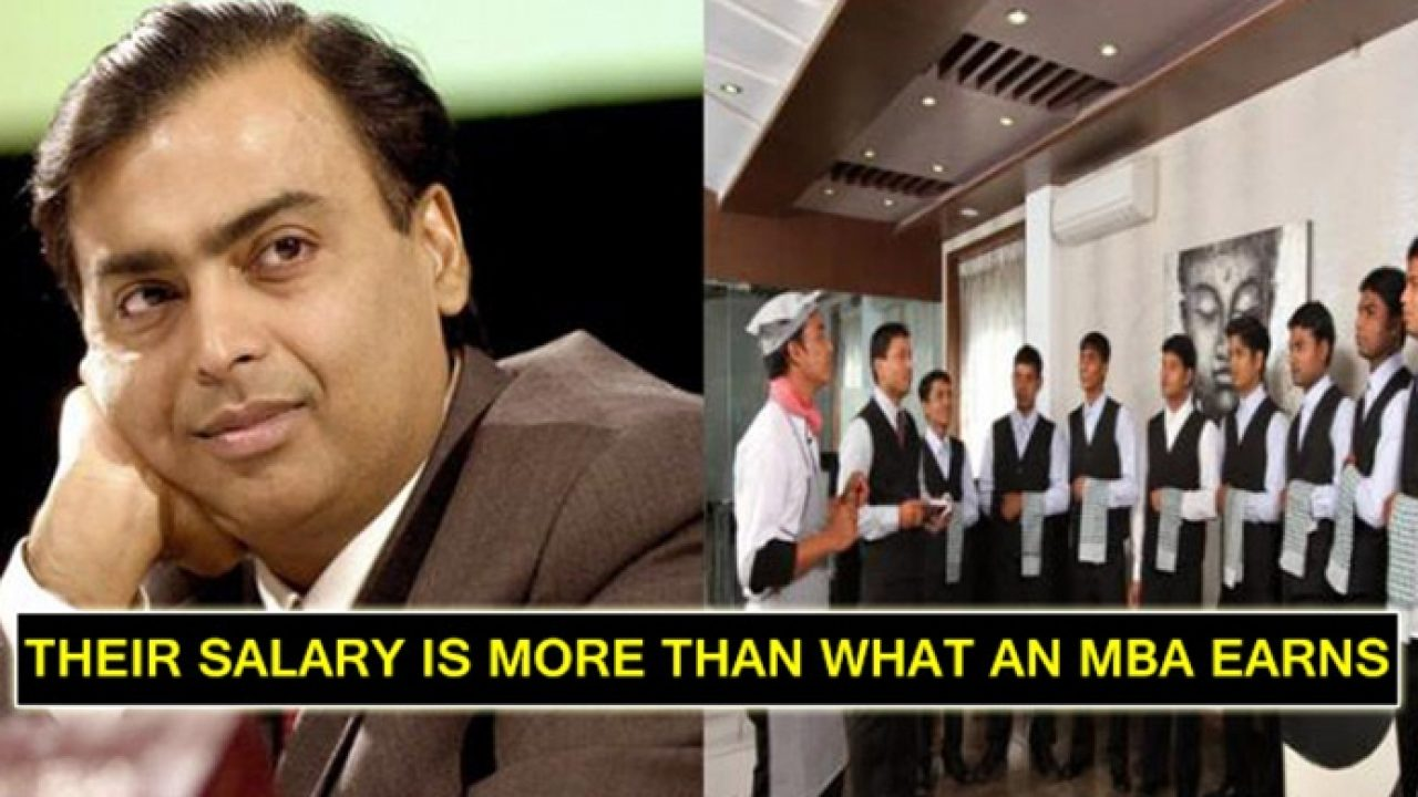 Workers In Mukesh Ambani House Earn Much More Than You Think
