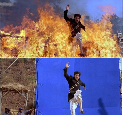Before And After VFX Pictures Of Bollywood Films