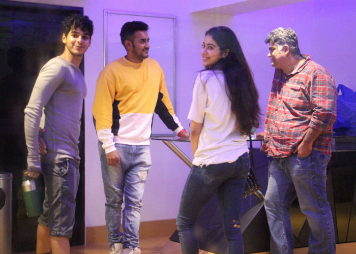 Dhadak Duo Janhvi Kapoor and Ishaan Khatter Spotted At ...