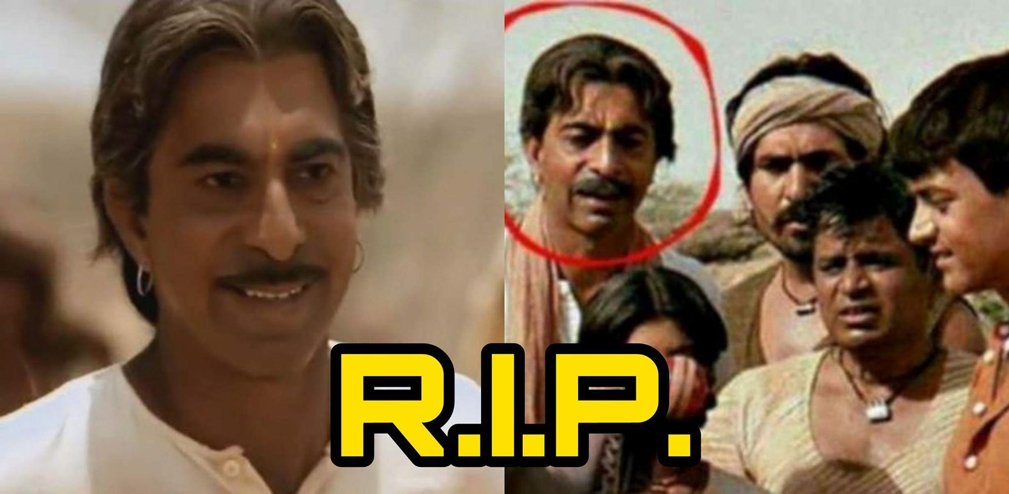 Another Bollywood Veteran Left Us, Lagaan Actor Shrivallabh