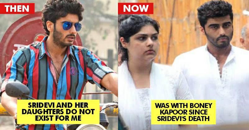 arjun kapoor and sridevi relationship memes