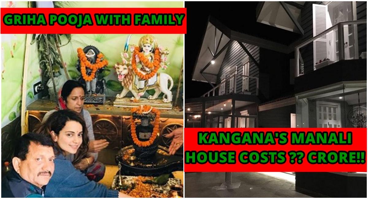 kangana ranaut performs griha pravesh in her new banglow