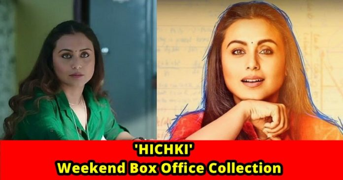 Weekend box office collection 39 hichki 39 grossed a fair - Top bollywood movies box office collection ...