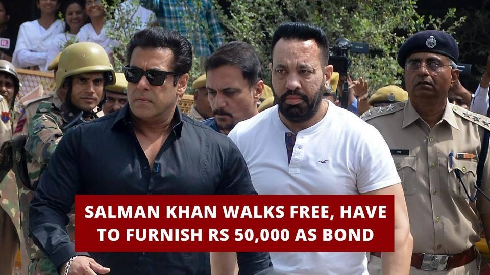 Salman Khan-Granted Bail-HOT NEWS