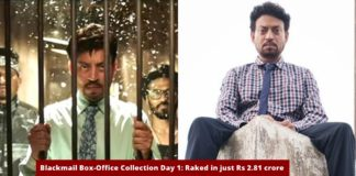 Irrfan Khan-Box Office Collection-Day 1-Bollywood