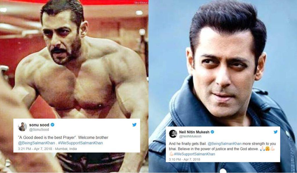 Salman Khan-Granted Bail-Bollywood Celebs