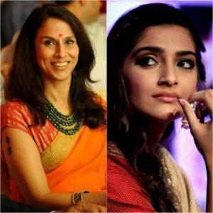 Shobha and sonam