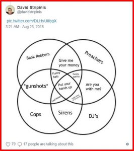 A hilarious venn diagram invited for a meme fest on twitter here are some of the funny reactions by people do you still think venn diagrams ccuart Image collections