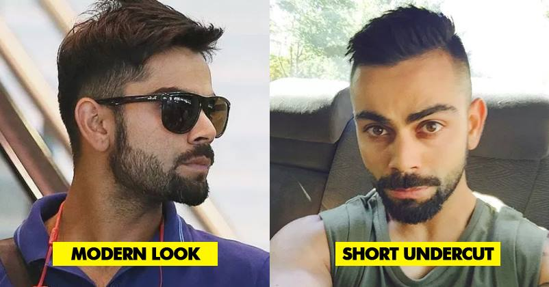 15 Hairstyles Of Virat Kohli That Makes Him The Most Fashionable Cricketer