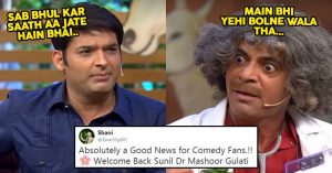 Kapil Sharma And Sunil Grover To Reunite For A New Comedy Show, Twitter Is Happy