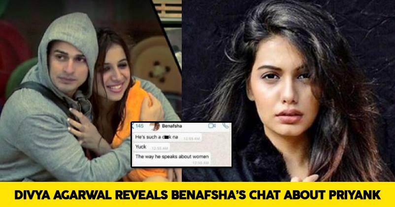 SHOCKING: Divya Agarwal LEAKS WhatsApp Chat With Benafsha ...