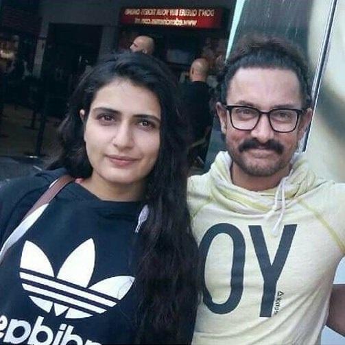 Fatima Sana Shaikh with Aamir Khan