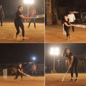 Katrina Kaif plays cricket on 'Bharat' sets, asks Anushka Sharma for help, says 'Apna Time Aayega'- all in one video