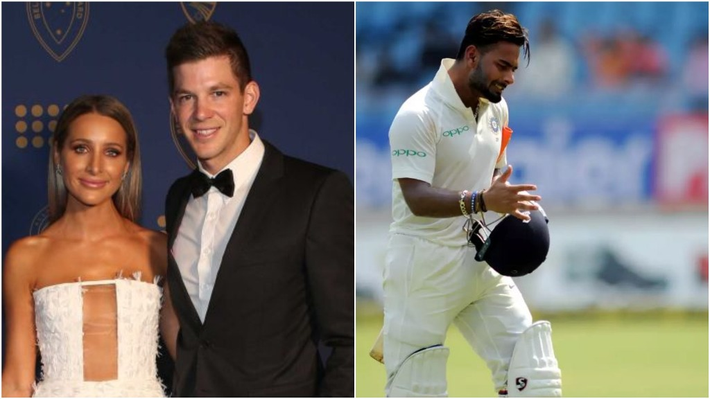 After Rishabh Pant S Temporary Captain Remark For Tim Paine Paine S Wife Calls Him Best Babysitter