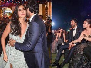 Katrina Kaif bumped into ex Ranbir and Alia Bhatt at Filmfare Awards 2019 and here's what happened next