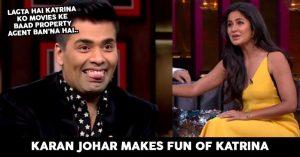 Karan Johar Takes A Dig At Katrina Kaif For Skipping His Party