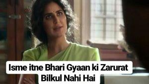 Twitter Triggers Bharat Trailer Memes With Katrina Kaif's Dialogue