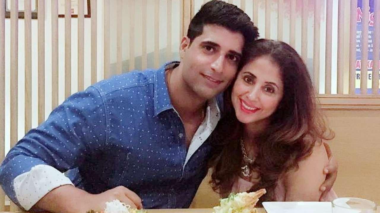 Mohsin Akhtar Mir and Urmila Matondkar