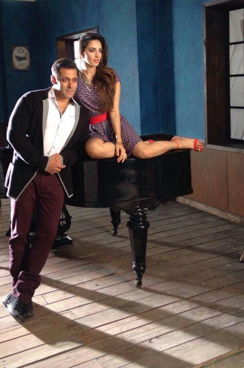 Kiara Advani and Salman Khan