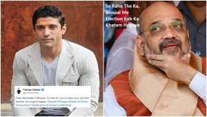 Farhan Akhtar Urges Bhopal To Not Vote For Pragya, Gets Brutally Trolled For His Late Tweet