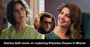 Katrina Kaif Opened Up On Replacing Priyanka Chopra In Bharat