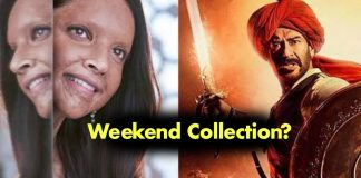 Chappaak and Tanhaji Weekend collection