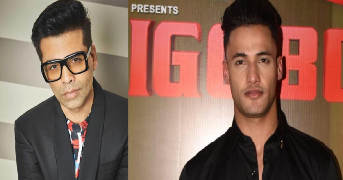 Karan Johar and Asim