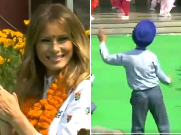 Little kid's dance in Melania Trump's presence is a must-see