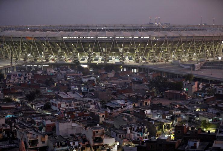 Staduim at Ahmedabad