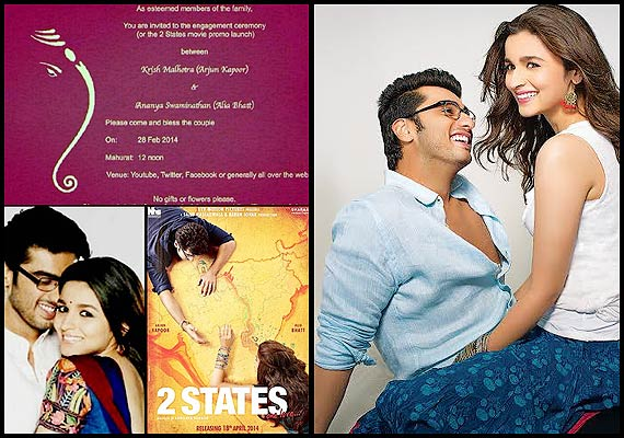 Image result for 2 state promotion card