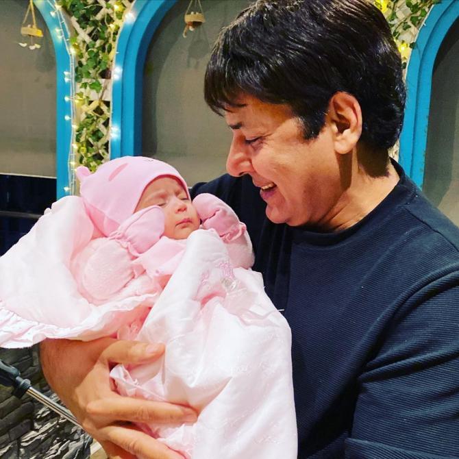 Sudesh Lehri and Anayra Sharma
