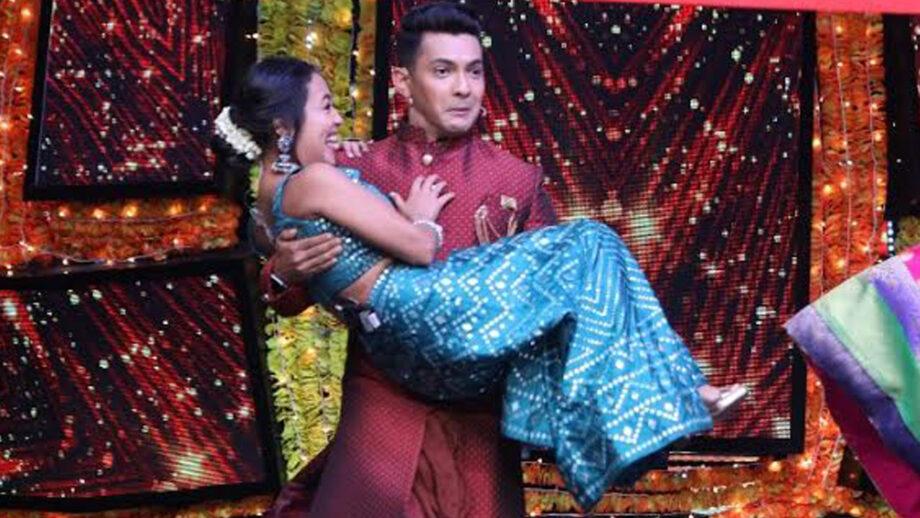 aditya narayan and neha kakkar on indian idol