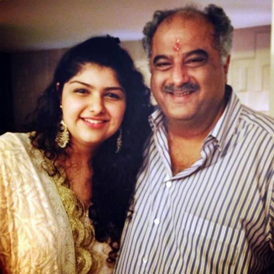 Boney Kapoor with Anshula