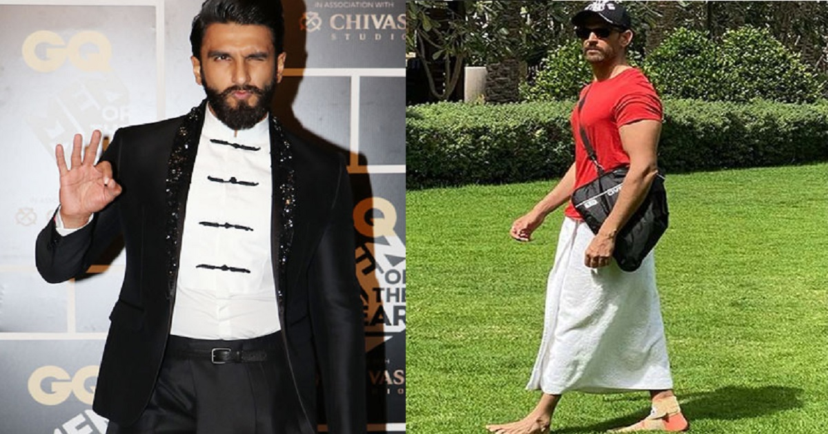 Hrithik Roshan Credits His New Style To Ranveer Singh, And Its Hilarious